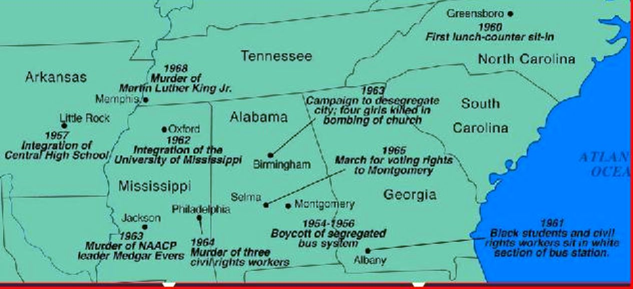 Civil Rights Map Kc Johnson