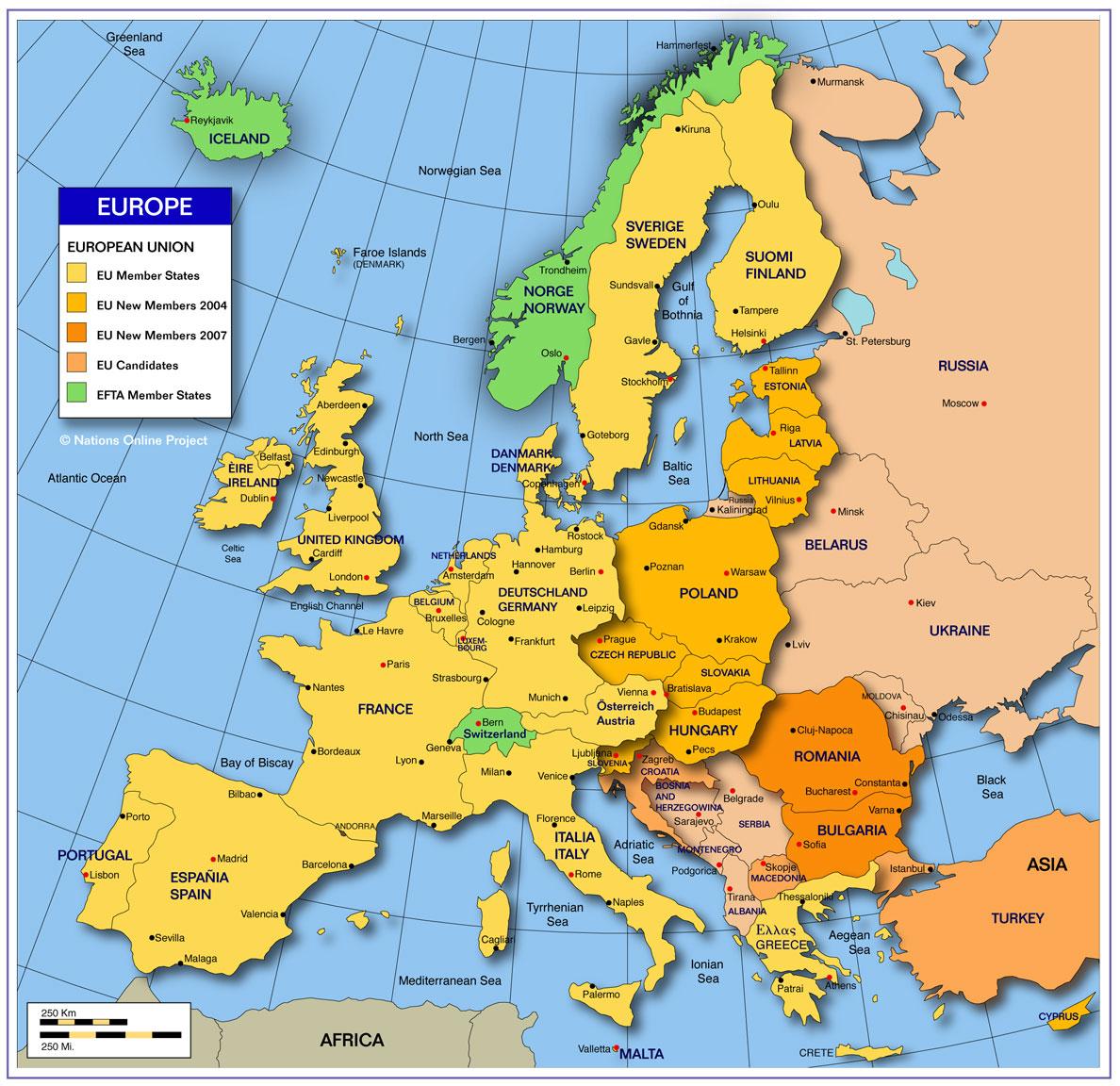 Map Of Europe Kc Johnson