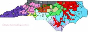 "North Carolina's ""majority-minority"" House districts"