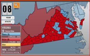 Virginia, 2008
